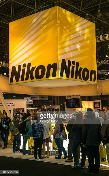 The opening of the PhotoPlus 2013 photo exhibition at the Jacob Javits Convention Center is viewed on October 24 2013 in New York City With a full...