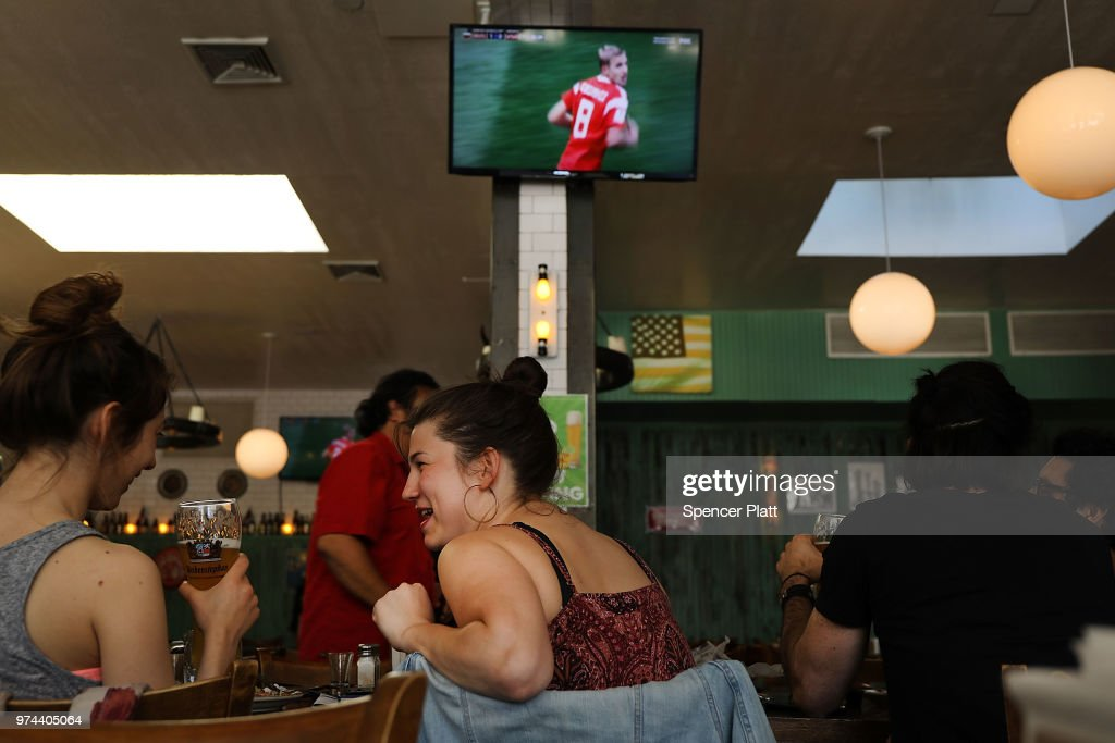 Soccer Fans Watch Opening Match In 2018 World Cup