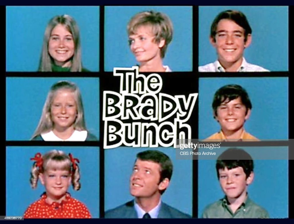 The Brady Bunch : News Photo