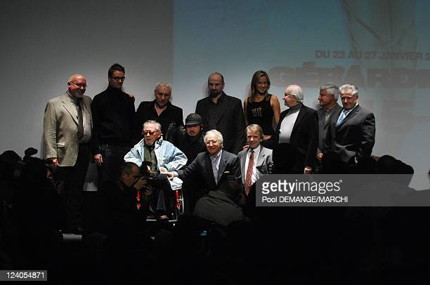 The Openning ceremony of Fantasy Film Festival In Gerardmer, France On August 23, 2008- Members of the jury of the 15th Gerardmer Fantastic Film...