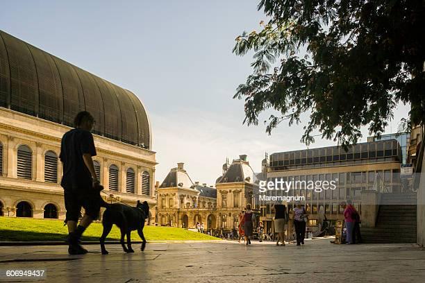 The Opera and the Hotel de Ville