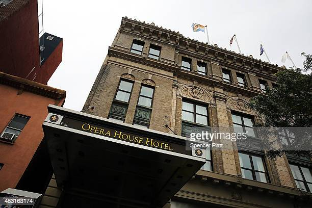 The Opera Hotel is viewed in an area of the Bronx which is the center of the outbreak Legionnaires disease on August 6 2015 in New York City It is...
