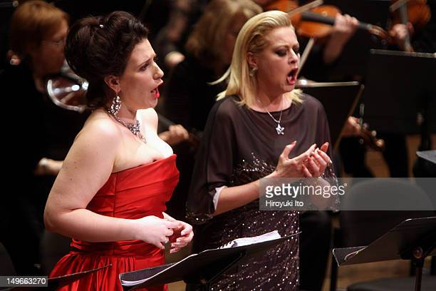 The Opera Orchestra of New York performing Giacomo Meyerbeer's 'L'Africaine' at Avery Fisher Hall on Wednesday night March 2 2011This imageThe...