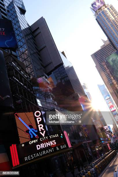 The Opry City Stage opens just north of Times Square on December 1 2017 in New York City