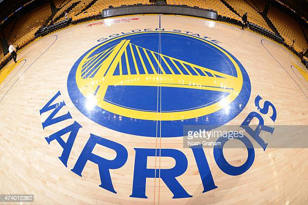 The Oracle Arena before Game One of the Western Conference Finals during the NBA Playoffs between the Houston Rockets and Golden State Warriors on...