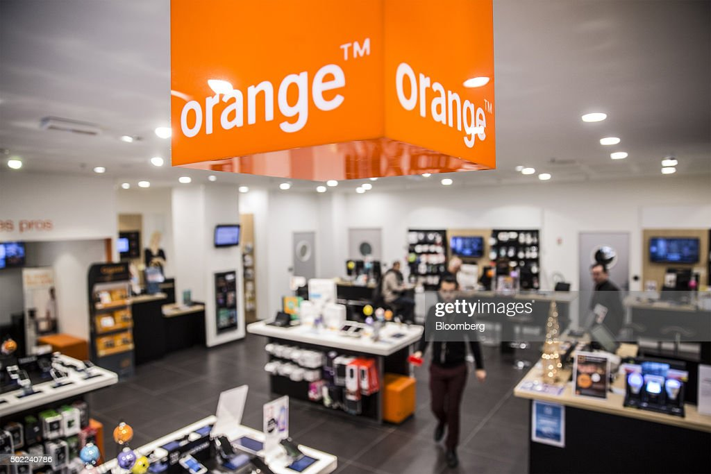 Inside An Orange SA Phone Store As France's Biggest Mobile Carrier ...