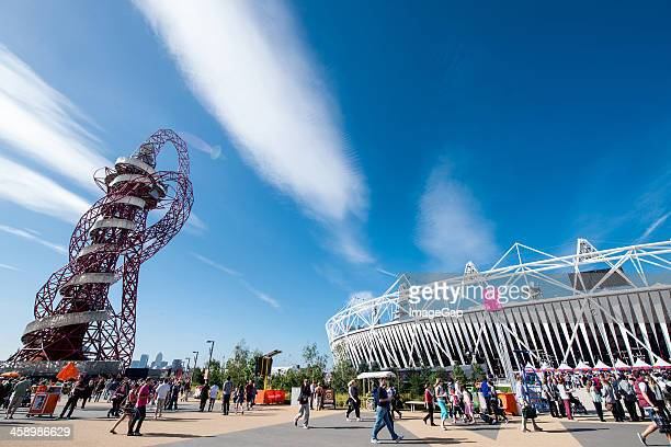 The Orbit and Olympic Stadium
