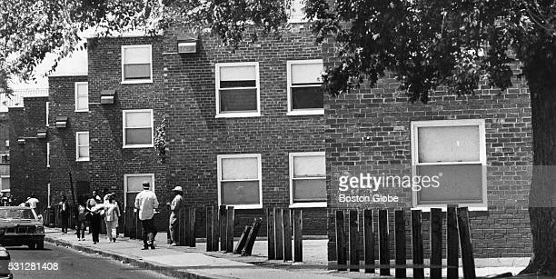 The Orchard Park housing project in the Roxbury neighborhood of Boston Mass June 4 1986