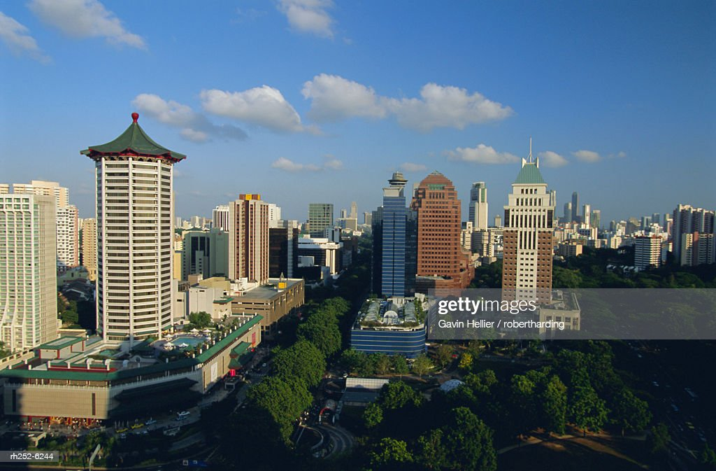 The Orchard Road district, one of Asia's most popular shopping areas, Singapore, Asia : Stockfoto