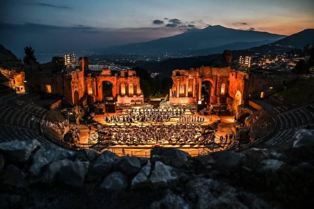 ITA: Carl Orff's Medieval Carmina Burana At The Ancient Theater Of Taormina