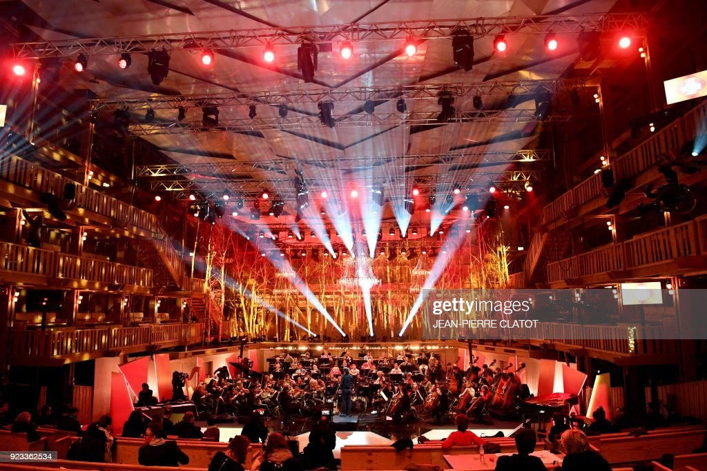 TOPSHOT-FRANCE-MUSIC-CLASSICAL-VICTOIRES-AWARDS : News Photo