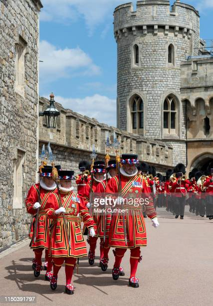 The Order of the Garter Service at St George's Chapel on June 17, 2019 in Windsor, England.