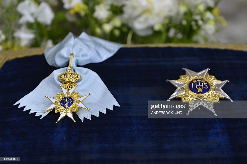 The order of the Seraphim is diplayed on : News Photo