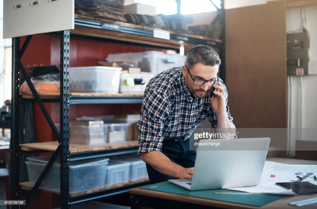 The orders just keep flying in : Stock Photo