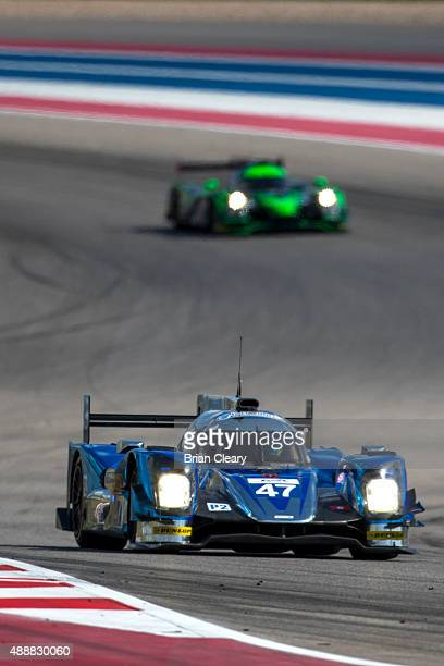 The Oreca 05 Nissan of Matthew Howson Richard Bradley and Nicolas Lapierre is shown in action during practice for the FIA World Endurance...