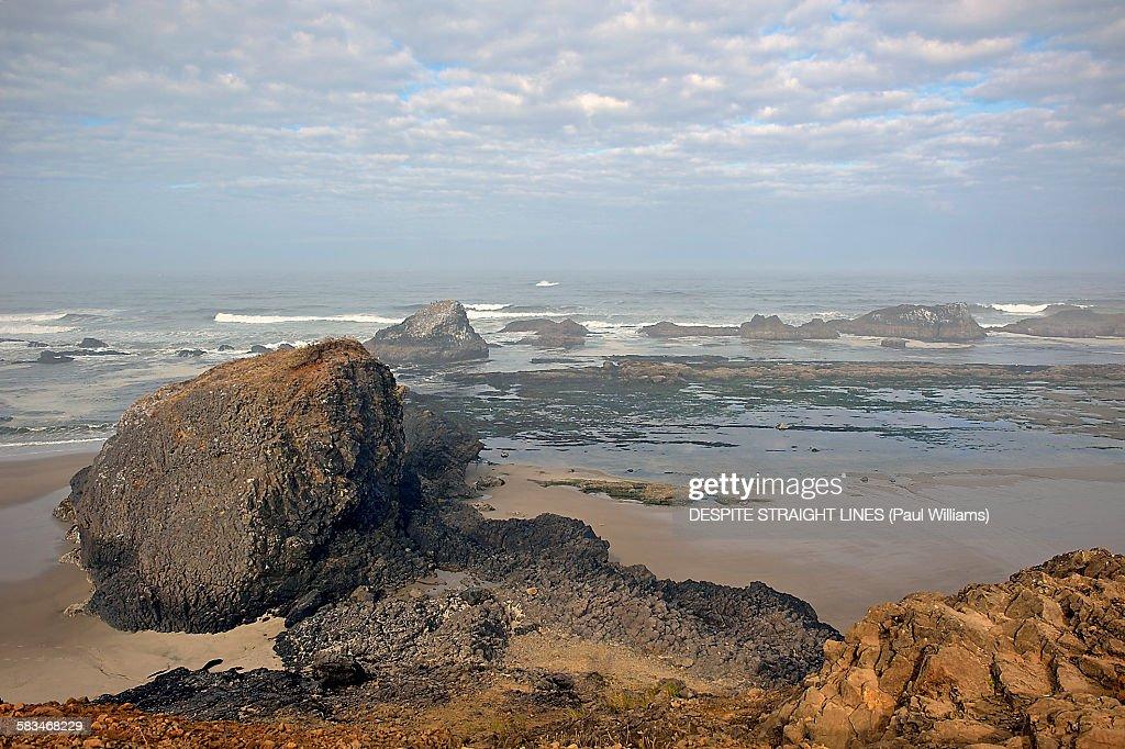 The Oregon coast : Stock Photo