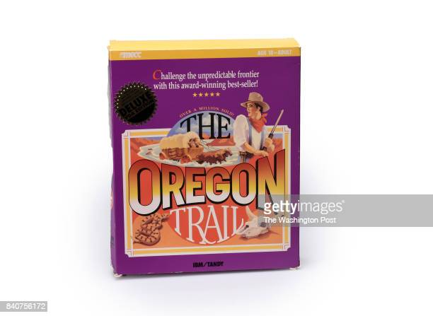 The Oregon Trail computer game one of many Iconic toys thru the decades for the parenting special section on August 2017 in Washington DC
