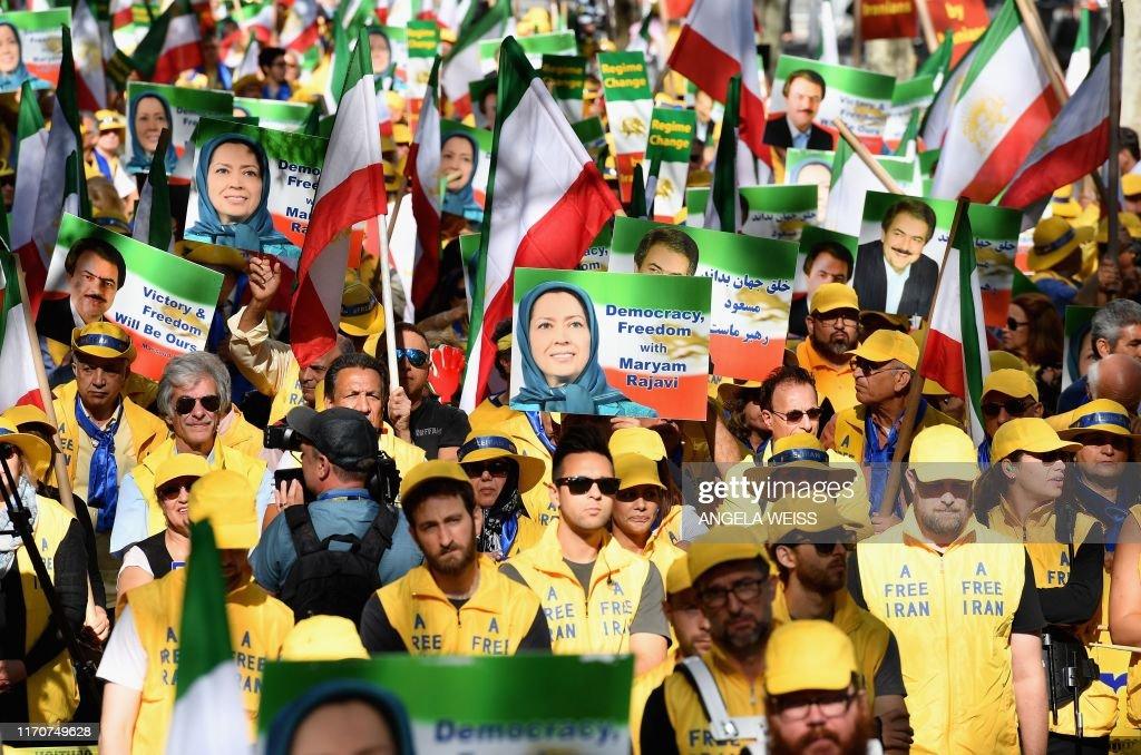 US-IRAN-DEMONSTRATION : News Photo
