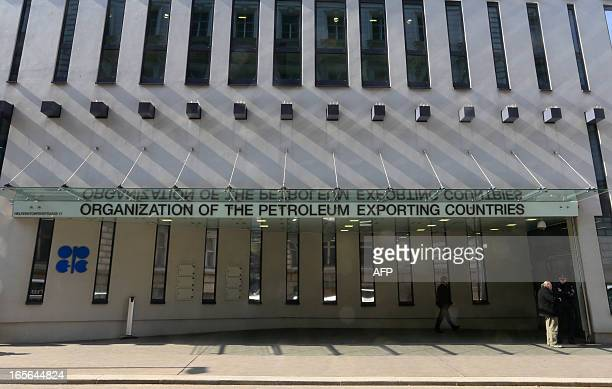 The Organization of the Petroleum Exporting Countries headquarters building is seen in Vienna on April 4 2013 During an oil industry gathering in...