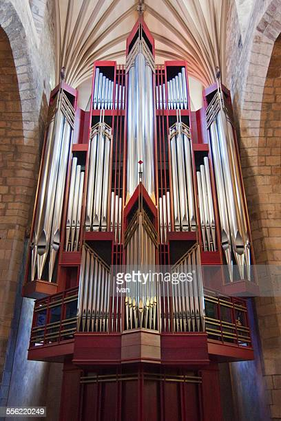 The organpipe in St. Giles cathedral