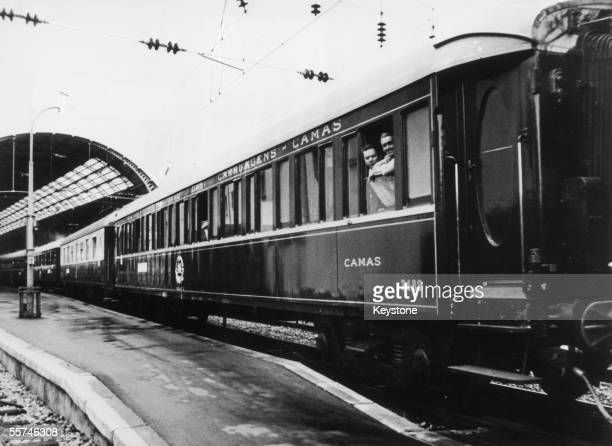 The Orient Express in Monte Carlo during its last journey October 1977
