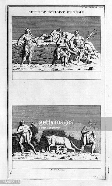 'The origin of Rome' 1757 Amulius buried Rhea Silvia alive and threw her sons into the river Tiber because he thought she violated her oaths of...