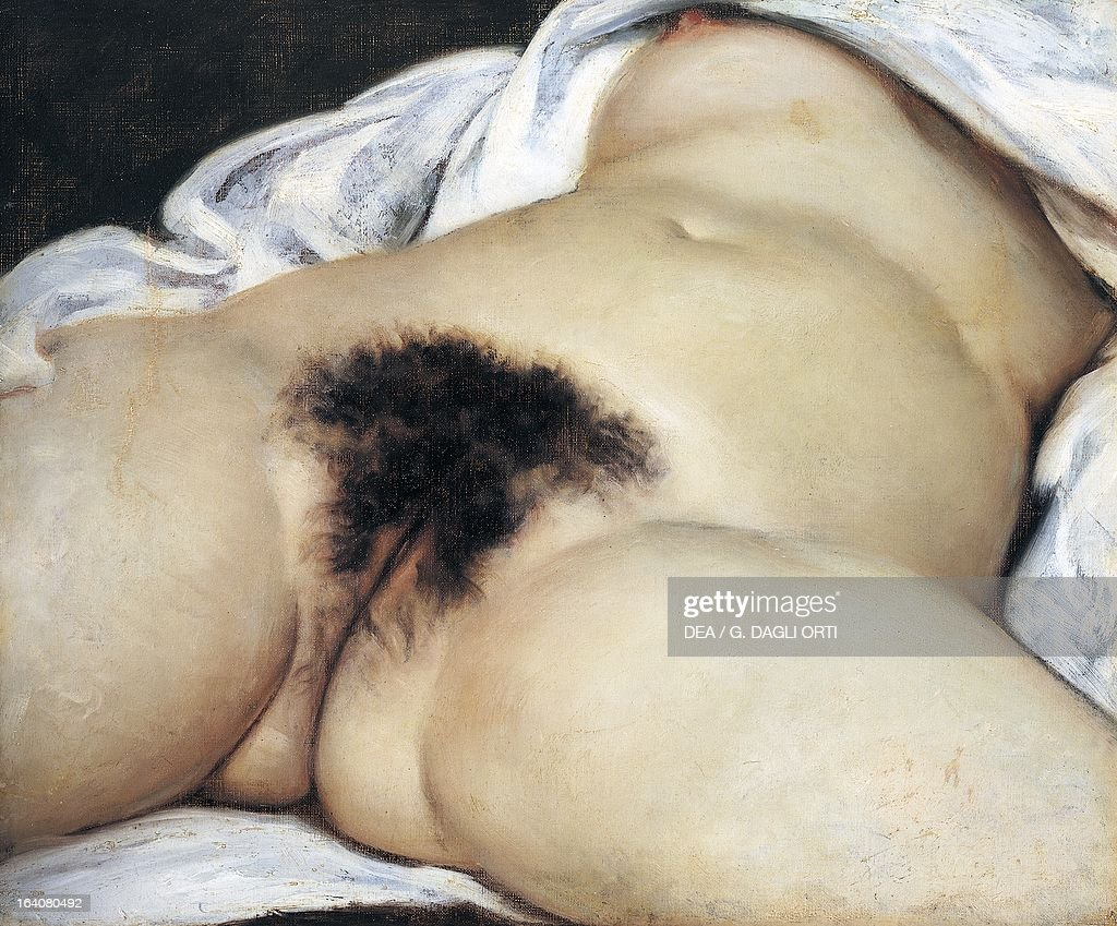 The Origin of the World, 1866, by Gustave Courbet... : News Photo