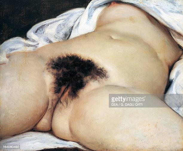 The Origin of the World by Gustave Courbet oil on canvas 46x55 cm Paris Musée D'Orsay