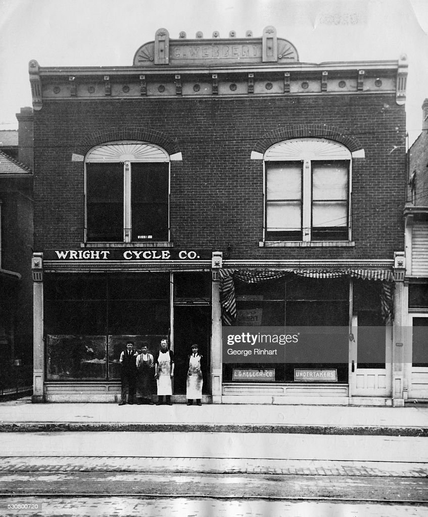 Wright Cycle Company Owned By The Wright Brothers Pictures