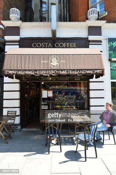 The original Costa Coffee shop first opened in 1978 by brothers Sergio and Bruno Costa but now in private hands and no longer part of the chain on...