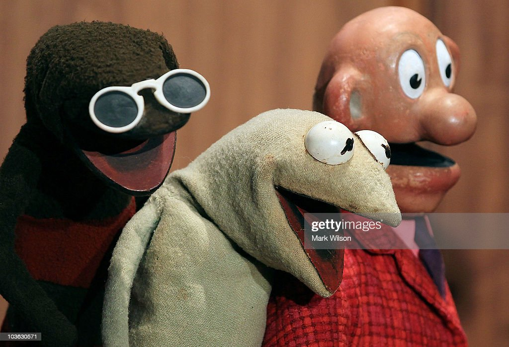 Jim Hensen Muppet Characters Donated To Smithsonian : News Photo