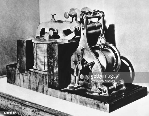The original Morse telegraph receiver on which 'What Hath God Wrought' Washington DC November 21 1936