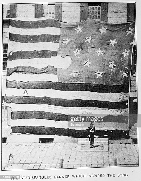 The original 'StarSpangled Banner' that inspired Francis Scott Key's poem was moved from Fort McHenry in 1874 and displayed at the Boston Navy Yard...