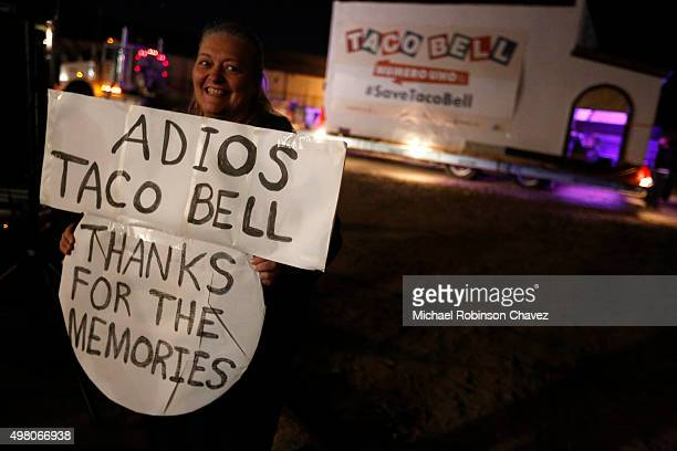 The original Taco Bell restaurant located in Downey was moved via a truck to the company's headquarters in Irvine The first of the massive fast food...