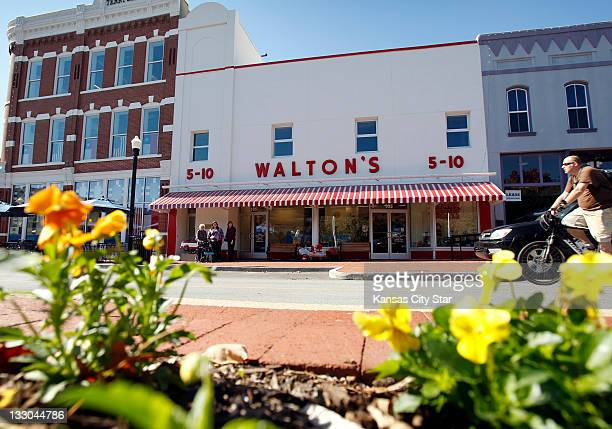 The original Walton's 510 opened in Bentonville Arkansas on May 1950 The building is now a visitors center and museum