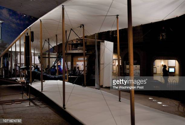 The original Wright Flyer from 1903 is on display at the Air and Space Museum The National Air Space Museum was recently renovated and the planes...