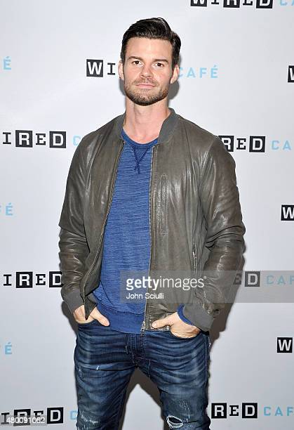 The Originals actor Daniel Gillies attends WIRED Cafe at Comic Con 2015 in San Diego at Omni Hotel on July 9 2015 in San Diego California