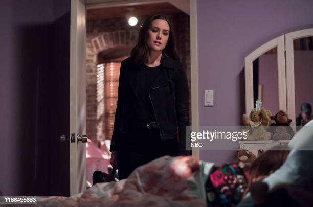 THE BLACKLIST The Orion Relocation Service Episode 709 Pictured Megan Boone as Elizabeth Keen Sarah/Emily Kell as Agnes Keen