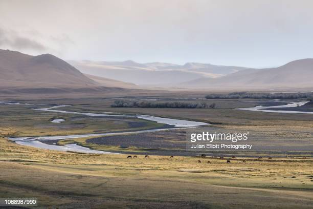 The Orkhon Valley natural and Historical Reserve in Mongolia.