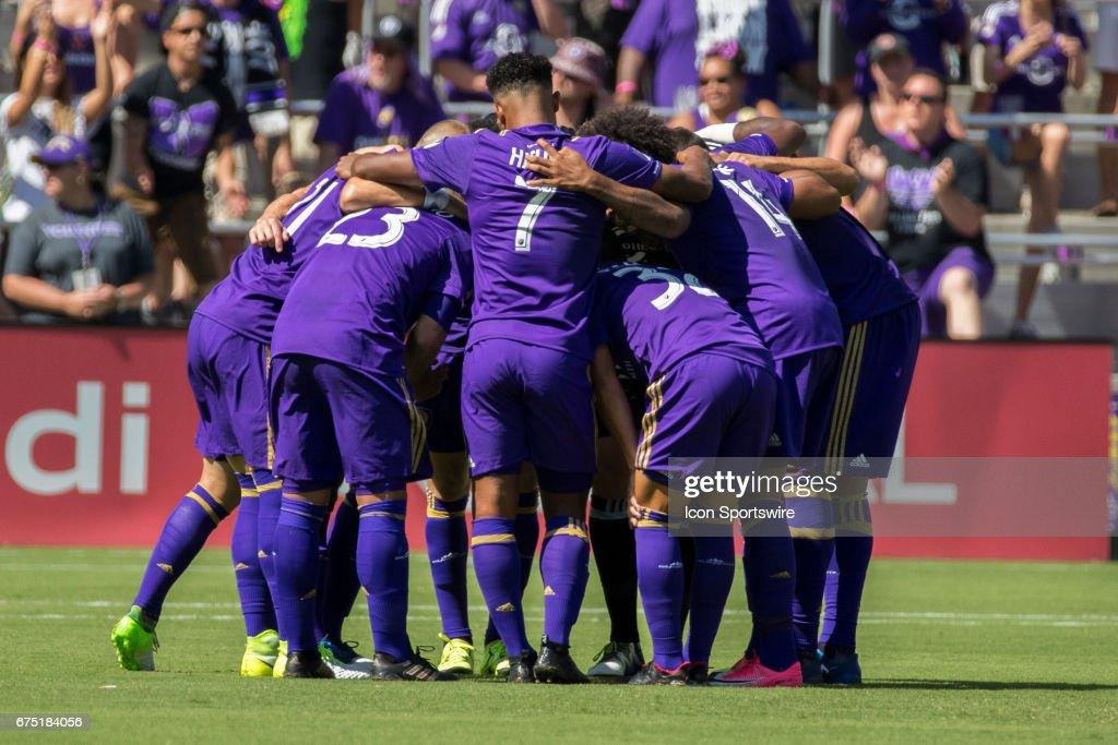 SOCCER: APR 29 MLS - Colorado Rapids at Orlando City SC : News Photo