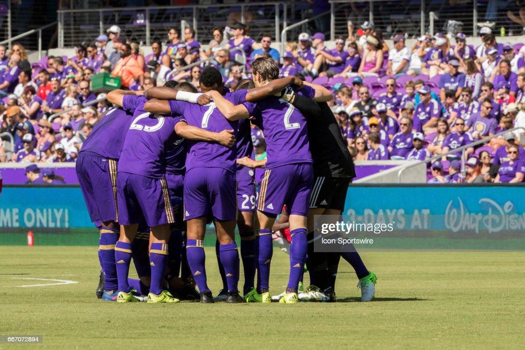 SOCCER: APR 09 MLS - NY Red Bull at Orlando City SC : News Photo