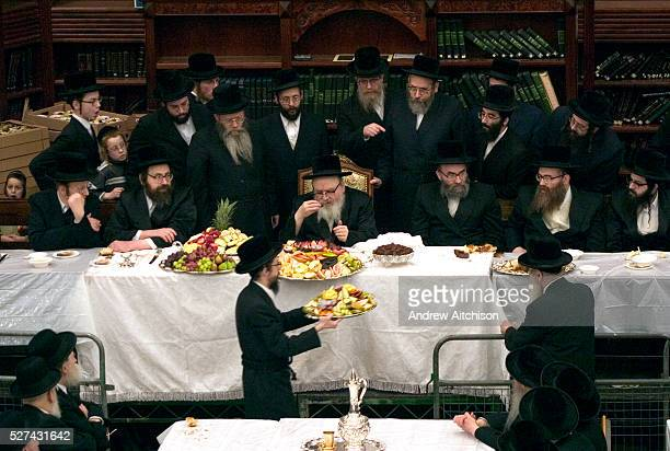 The Orthodox Jewish festival of Tu Bishvat is celebrated as the New Year of trees with a symbolic eating of different varieties of fruit. Here in a...