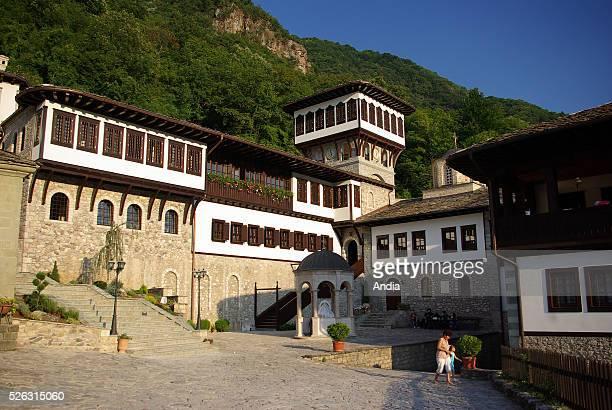 The Orthodox Monastery of Saint Jovan Bigorski, Mavrovo National Park, western part of Macedonia .