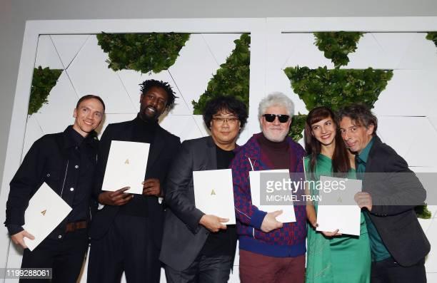 The Oscars International Feature Film nominees directors Polish Jan Komasa South Korean Bong Joonho French Ladj Ly Spaniard Pedro Almodovar...