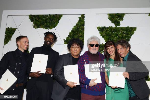 The Oscars International Feature Film nominees directors Polish Jan Komasa South Korean Bong Joonho French Ladj Ly Spaniard Pedro Almodavar...