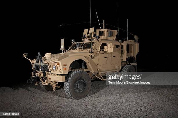 the oshkosh m-atv. - mine resistant ambush protected stock pictures, royalty-free photos & images