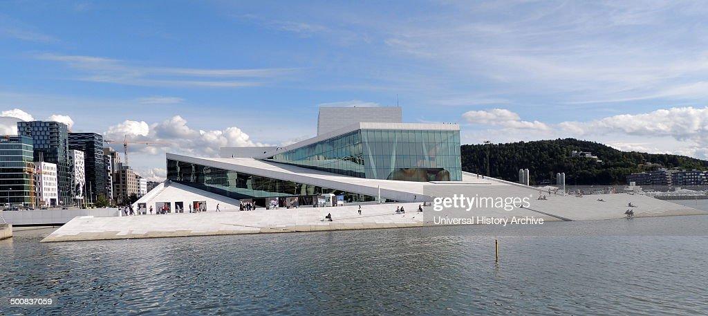 The Oslo Opera House (Operahuset) Home Of The Norwegian National Opera And  Ballet,