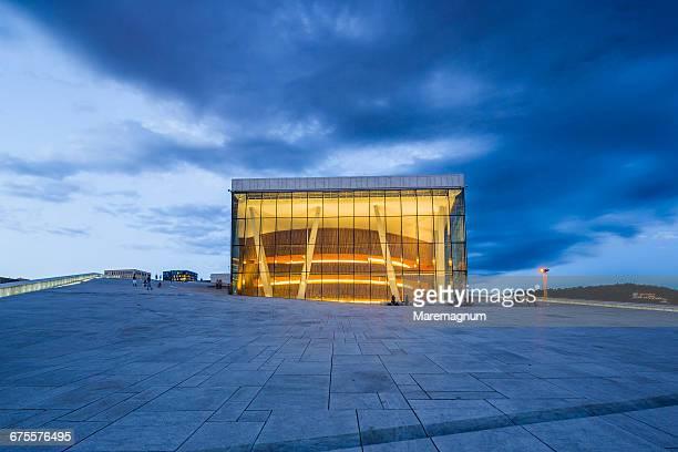 The Oslo Opera House (Operahuset)