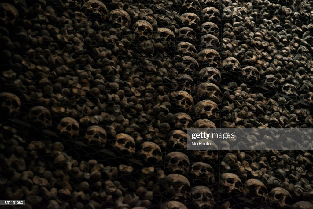 The Ossuary Of San Bernardino Alle Ossa Is Pictured In Milan On