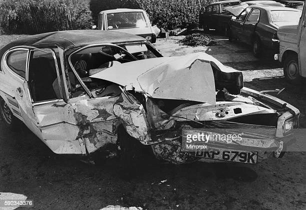 The other car involved was a Ford August 1979 P035542